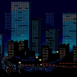 Cover of track 8-bit Metropolis by kall-