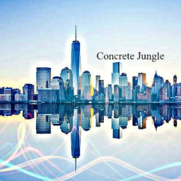 Cover of track Concrete Jungle by Sasquatch88