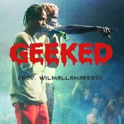 Cover of track Travis Scott x Young Thug Type Beat - Geeked by WilmaLlamaBeats
