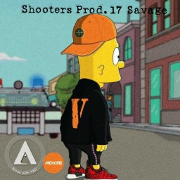 Cover of track 21 Savage X Pierre Bourne X Playboi Carti Type Beat Shooters by 17 Savage