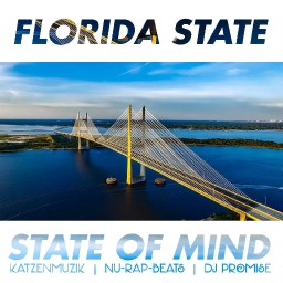 Cover of track A Florida State of Mind | RAP BEAT INSTRUMENTAL by katzenmuzik
