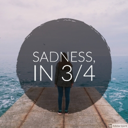 Cover of track Sadness in 3/4 by Sonat