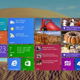 Cover of track Windows 8.1 Start screen by startmenu8