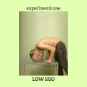 Cover of track experiment.one by low ego