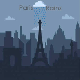 Cover of track Paris Rains by Sly Cooper724