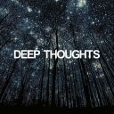 Cover of track DEEP THOUGHTS (NIGHTMARE PROD.) by NIGHTMARE PROD.