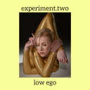Cover of track experiment.two by low ego