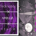 Cover of track APØLLØ, TECKNOBOY, MØNSØØN -  c l o u d by apollo