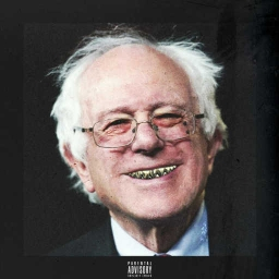 "Cover of track ""Berniesfeel the bern by How"