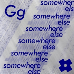 Cover of track somewhere else by g-spin archive