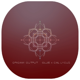 Cover of track origami output by ollie