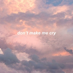 Cover of track dontmakemecry by ed.