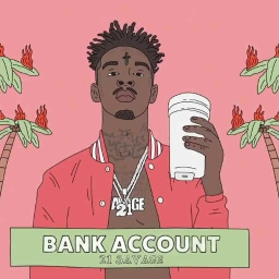 Cover of track 21 savage - Bank Account instrumental by NEENO KINGDOM