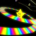Cover of track Rainbow Road by ikethakid