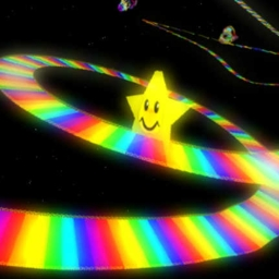 Cover of track Rainbow Road by (XLL$) Ikethakid