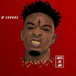Cover of track ALL THE SMOKE 21 SAVAGE by DJCMAY