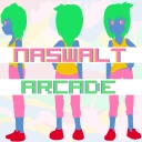 Cover of track flood waters (naswalt x Arcade) by naswalt