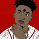 "Cover of track 21 Savage x Lil Yatchy x Metro Boomin x Zaytoven Type Beat ""Rack by (NBK) Supreme23™®"