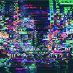 Cover of track Too glitchy by Double-U
