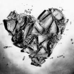 Cover of track Shattered heart by Babyfazzo