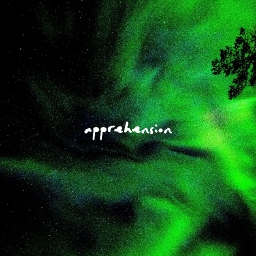 Cover of album Apprehension LP by Snio, but frightening