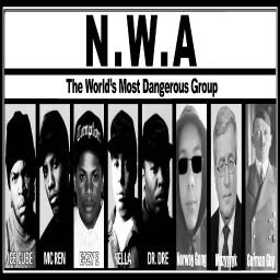 Cover of track Fuck Me To Hell (N.W.A & The Norway Gang Remix) by (MG42 GANG™) Norway Gang