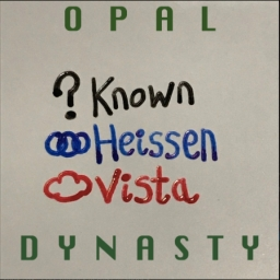 Cover of track OPAL DYNASTY [+ heissen & vista] by ‌‌ ‌‌‌‌ ‌‌‌‌ ‌‌‌‌ ‌‌known