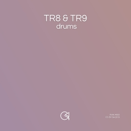 Cover of track TR8 & TR9 Drums by AT Resource Collective