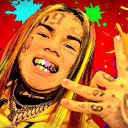 "Cover of track 6ix9ine Type Beat ""Silly"" by (YBS) KXNG SIZE"