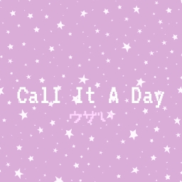 Cover of track call it a day by shel