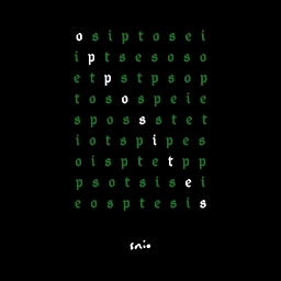 Cover of track opposites by snio