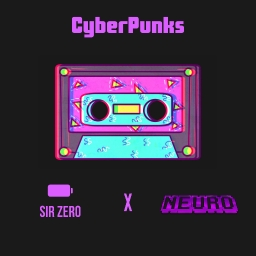 Cover of track CyberPunks by SirZero 誰も