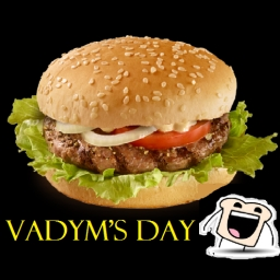Cover of track new hamburger by Vadym's day