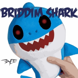 Cover of track joVee - BRIDDIM SHARK by joVee
