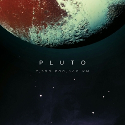 Cover of track Pluto by 黒スペード BLXCKSPXDE