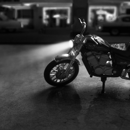 Cover of track Motorbike rainy day by Rugle
