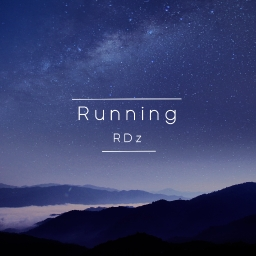 Cover of track Running by RDz • Onyx