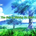 Cover of album The Sun Is Shining So Don't Cry by Jelly-san