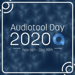 Cover of track ATD20 is almost here! by Audiotool Day 2020
